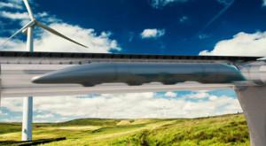 """Hyperloop este real: cum arată """"al cincilea mijloc de transport"""""""