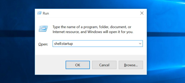 Windows Shell Startup