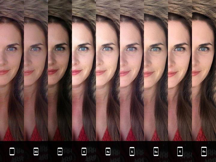 iPhone 6S comparatie foto toate modelele