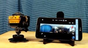 Kodak PixPro SP360-4K filmează la 360 de grade