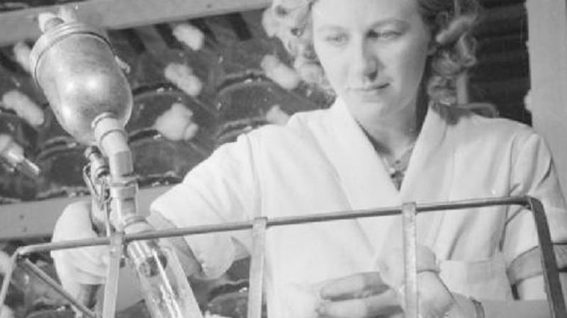 penicilina productie in masa