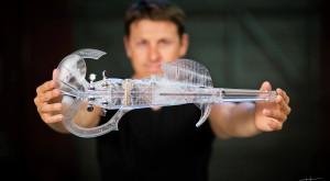 A fost printată 3D vioara care cântărește cât un fulg
