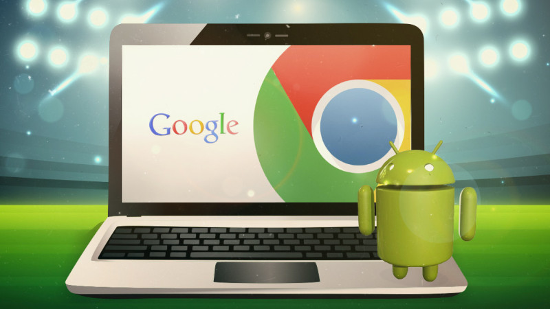 Android Chrome OS mix