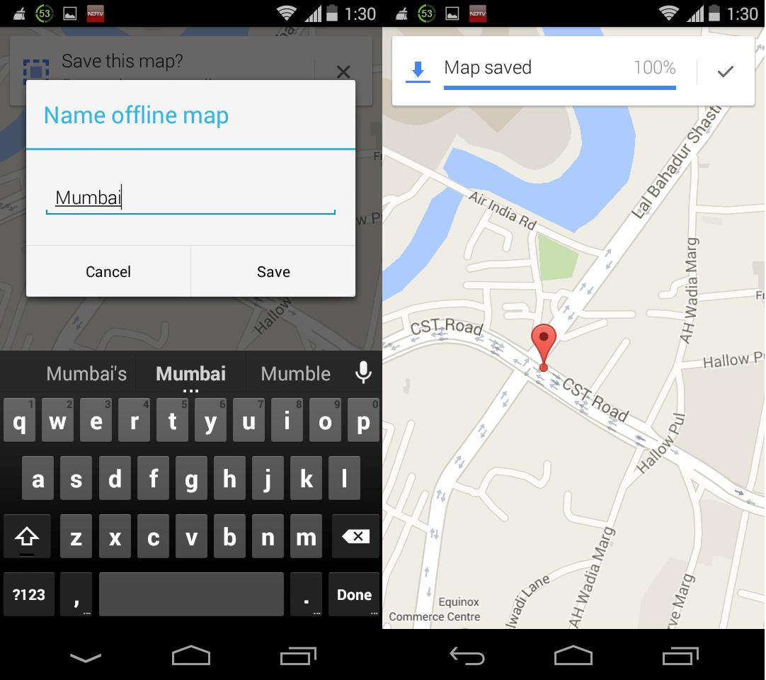 Google Maps Offline iOS