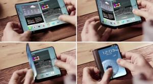 Samsung are de gând să creeze un ecran de laptop pliabil