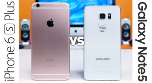 Care este mai rapid? iPhone 6S Plus vs Galaxy Note 5
