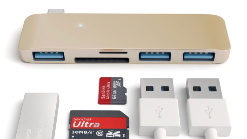 satechi usb type-c hub