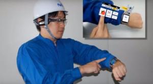 Simte-te ca Iron Man cu tastatura holografică ARmKeypad de la NEC