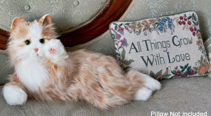 Pisica robotică ar putea fi companionul ideal