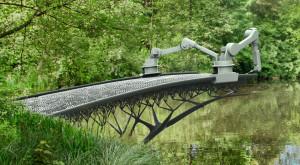 Olandezii construiesc un pod printat 3D în totalitate