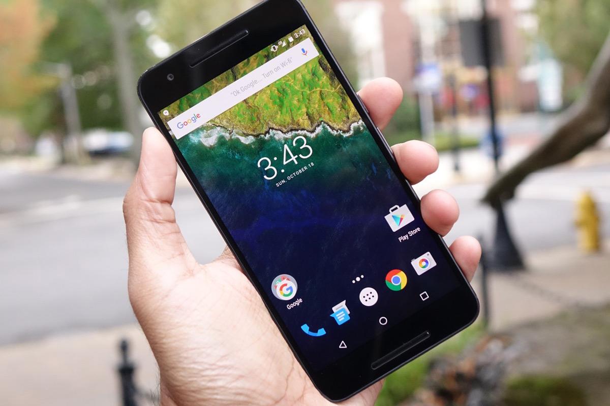 Cele mai bune telefoane cu USB C - Huawei Nexus 6p
