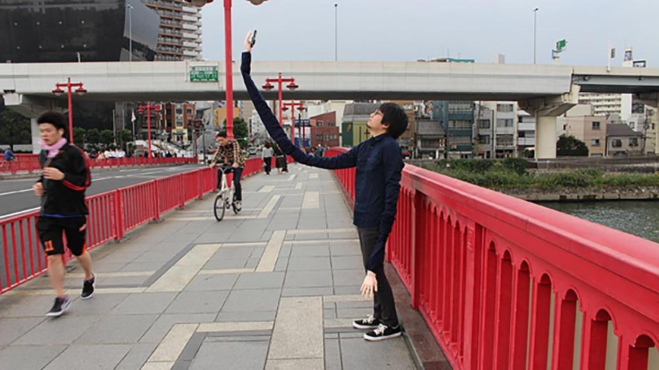 selfie stick mana