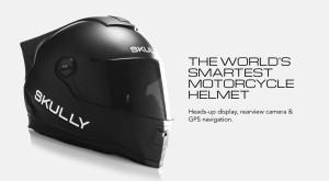 Skully AR-1 este cea mai inteligentă cască pentru motocicliști