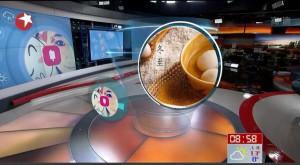 Microsoft Xiaoice – un program de IA a prezentat meteo la TV în China