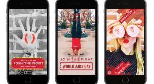 Cu Snapchat, faceți un bine de Ziua Internațională anti-SIDA
