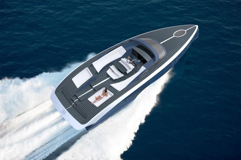 Bugatti construiește un iaht care va costa două milioane de euro