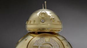 În caz că te-ai întrebat, poți cumpăra un roboțel BB-8 din Star Wars complet din aur