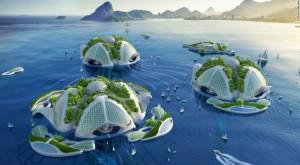 Locuințele viitorului ar putea fi construite din deșeuri, sub apă