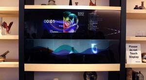 CES 2016: Panasonic găsește utilitatea TV-urilor transparente