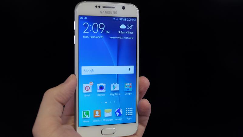 Samsung Galaxy S6 - telefoane cu display QHD