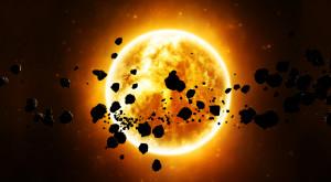 """Asteroizii ar putea """"muri"""" înainte să se apropie de Soare"""