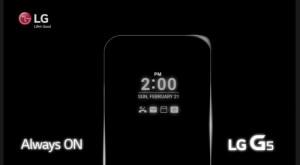 """LG promovează noul ecran """"Always ON"""" de pe viitorul LG G5"""
