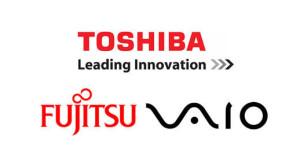 Toshiba, Fujitsu și Vaio se aliază pentru a produce PC-uri