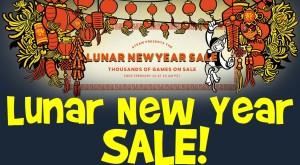 "Jocuri importante la reducere pe Steam – ""Lunar New Year Sale"""