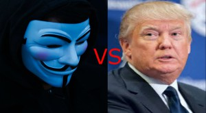 Hackerii de la Anonymous l-au transformat pe Donald Trump în victimă