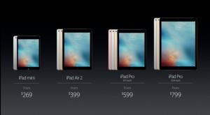 """Apple vă fură la cântar cu """"noile"""" iPad Pro"""