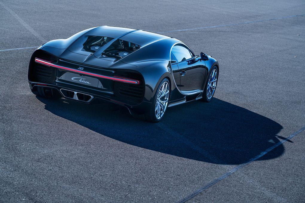 Bugatti Chiron stopuri