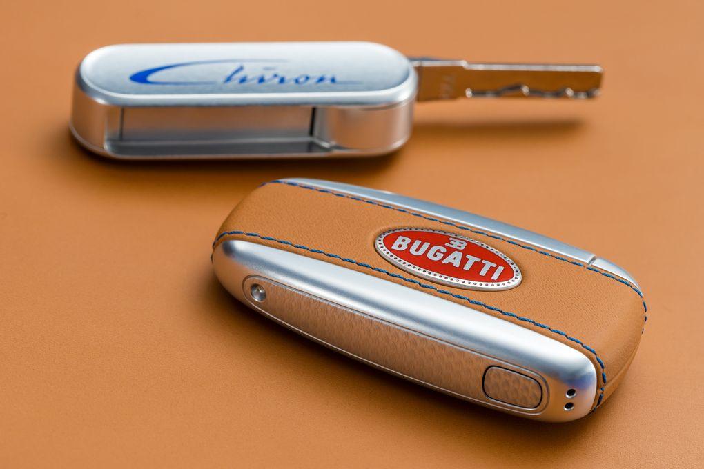 Bugatti Chiron cheie