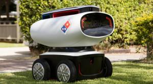 Domino's a construit un robot autonom pentru a livra pizza