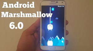 Android 6.0 Marshmallow, disponibil pentru Galaxy S5