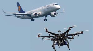 Sute de pasageri ai unui avion Lufthansa, puși în pericol de o dronă