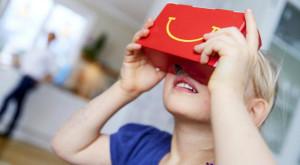 McDonald's servește copiilor puțină realitate virtuală la pachet cu un Happy Meal