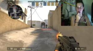 Cum poți convinge o fată să joace Counter-Strike cu ajutorul unui ruj