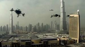 Dubai va găzdui luna aceasta primul campionat mondial de curse cu drone
