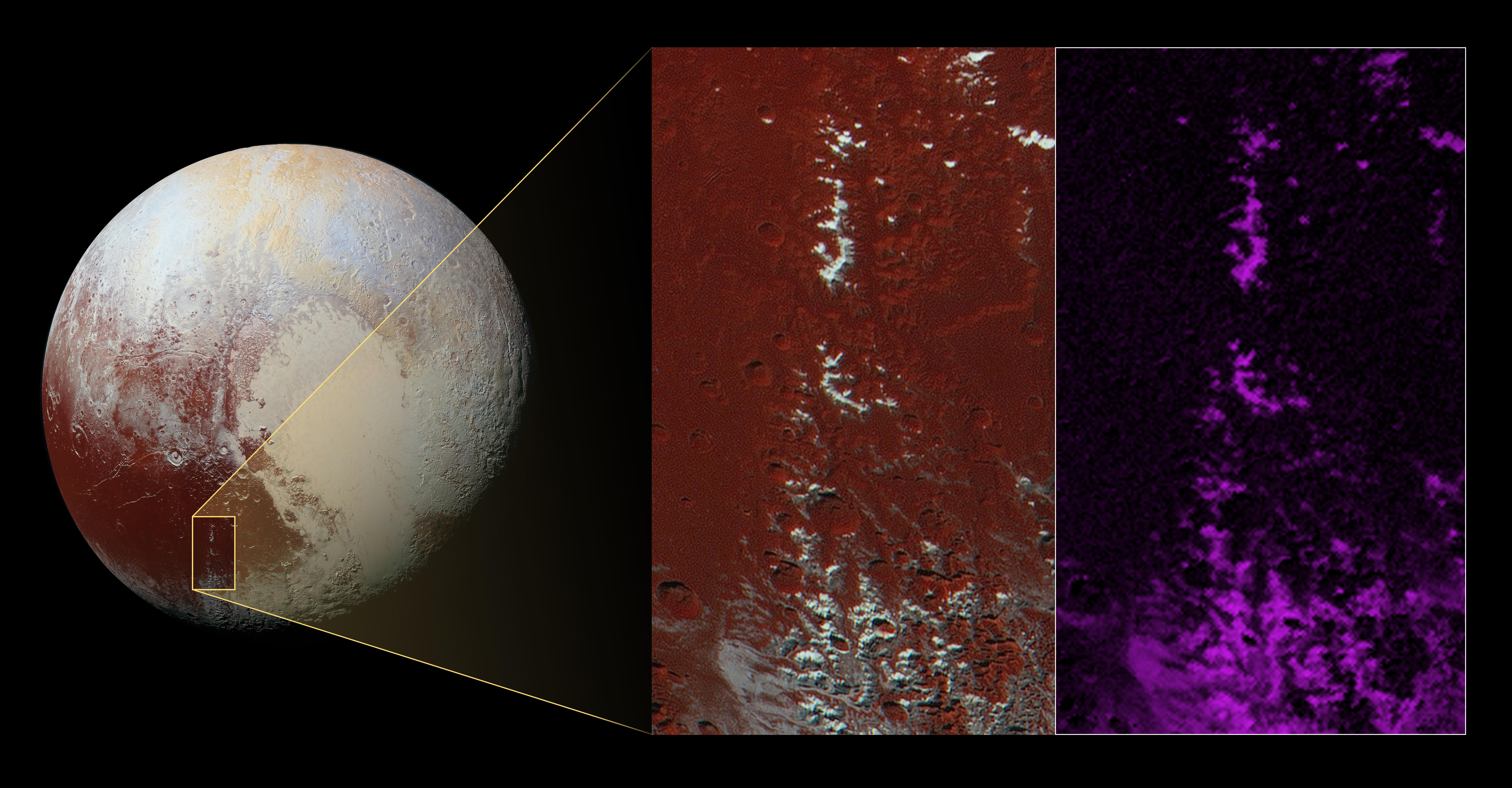 Prima zăpadă în spațiu a fost descoperită pe această planetă