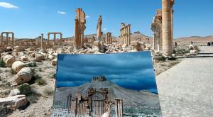 Înainte și după ISIS: aceste fotografii îți arată cât de mari au fost pagubele în Siria