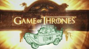 Cum ar arăta mașinile personajelor din Game of Thrones