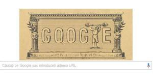 Jocurile Olimpice din 1896, sărbătorite de Google Doodle