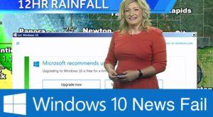"""Microsoft e de vină – Windows 10 a ajuns să strice """"vremea"""""""