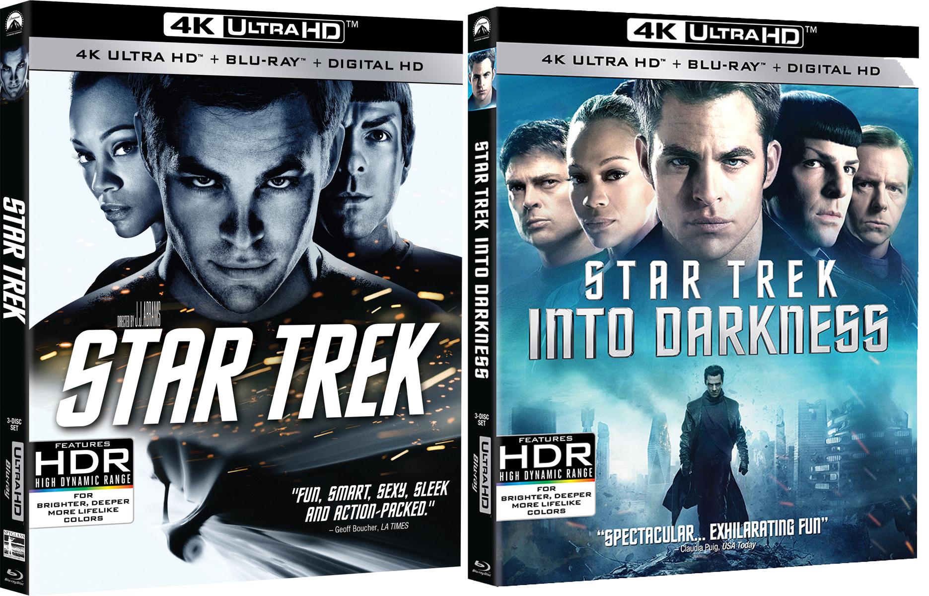 Star Trek Blu-ray 4K