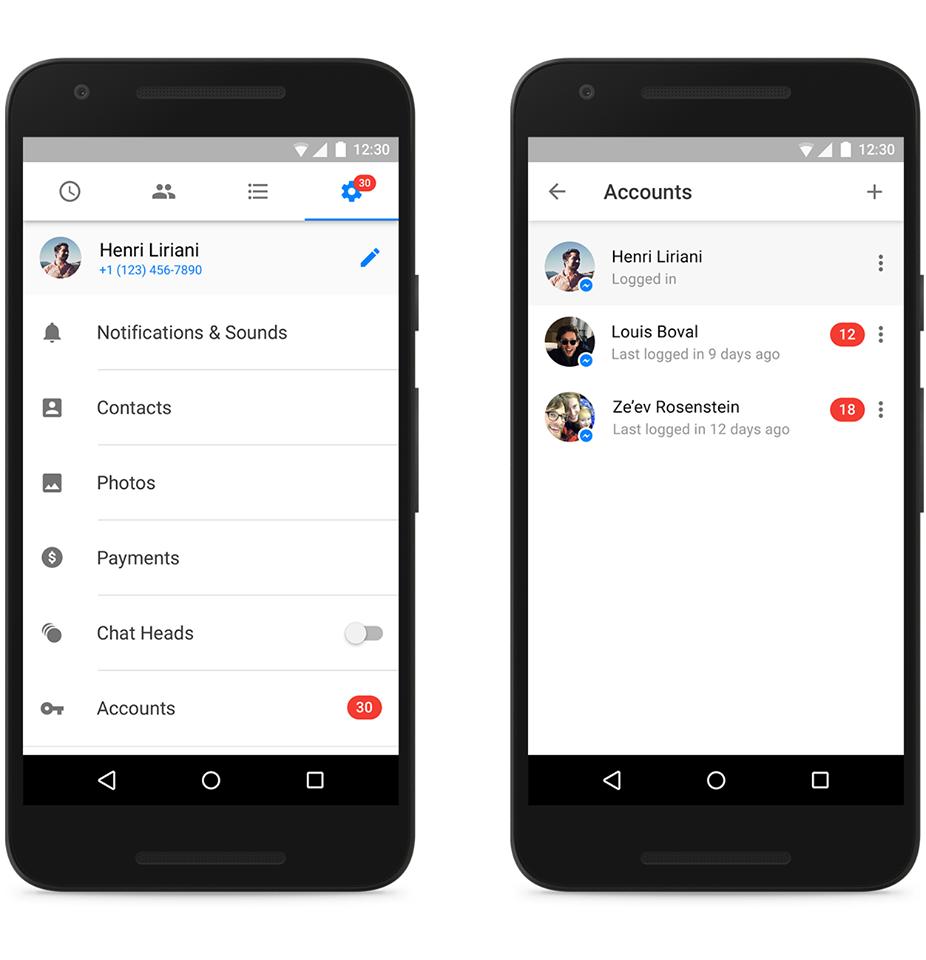 Mai multe conturi pe Android