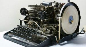 O mașinărie folosită de Hitler pentru a comunica codat, găsită pe eBay