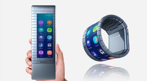 Chinezii lansează un telefon cu ecran pliabil, dar nu e așa cum ți-ai fi imaginat