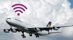 Panică în avion din cauza unui hotspot WiFi