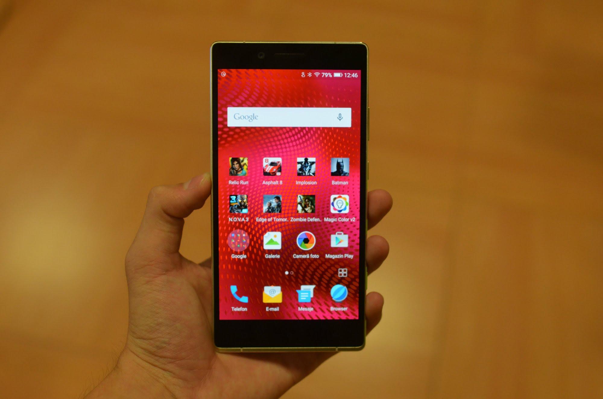 Allview X2 Soul Xtreme - telefoane cu display QHD