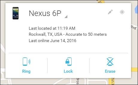 CUm gaseti un android furat localizare blocare